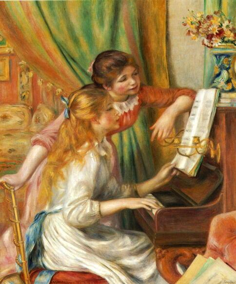 有名西洋絵画の解説と紹介をするインターネット美術館です。「印象派絵画」
